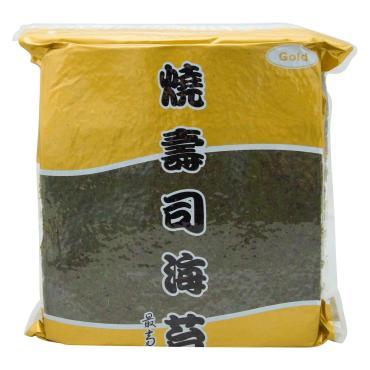Водоросли Yaki sushi Nori Gold сушеные 100 листов, Китай