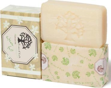 Натуральное алеппское мыло с жасмином, Grace of Earth, 115 гр., картонная коробка