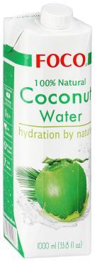Вода Foco Кокосовая натуральная