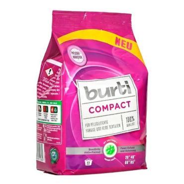 Cтиральный порошок Burti Compact Концентрированный для стирки цветного и тонкого белья без фосфатов