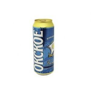 Пиво Окское Бочковое 0.45 л