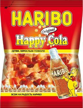 Мармелад Haribo Happy Cola жевательный