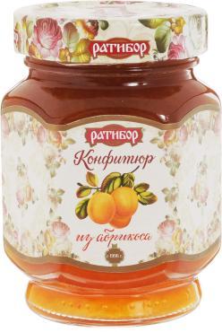 Конфитюр абрикос Ратибор, 350 гр., стекло