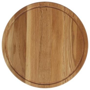 Доска для подачи Доброе дерево Для пиццы 35 см. массив дуба ясеня