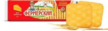 Крекер Ясная поляна фермерский с солью