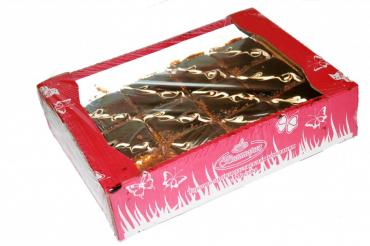 Пирожное Виктория Баварское вишнево-сливочное 2,5 кг.