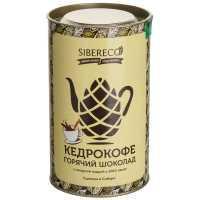 Кедрокофе горячий шоколад Sibereco, 500 гр., дой-пак