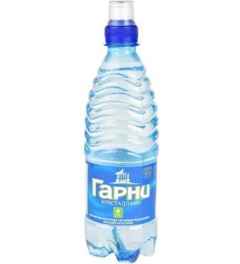 Вода питьевая негазированная Гарни Кристаллайн, 500 мл., пластиковая бутылка