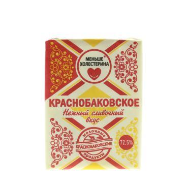 Спред растительно-жировой 72,5% Краснобаковское, 175 гр., бумажная упаковка