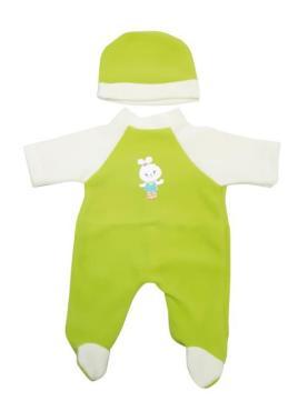 Одежда для куклы Комбинезон Колибри Малыш 60, 110 гр., пластиковый пакет