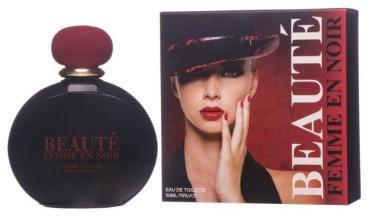 Туалетная вода для женщин Ponti Parfum Beaute Femme en Noir, 50 мл., картонная коробка
