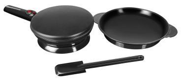 Блинница, цвет черный, размер 370 х 200 х 80, мм., Redmond rsm-1409, 1,315 кг., картонная коробка