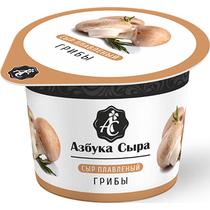 Сыр Азбука Вкуса плавленный с грибами порционный 100 г