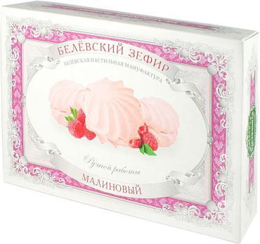 Зефир Белёвский малиновый, Белевская ПМ, 250 гр., картон