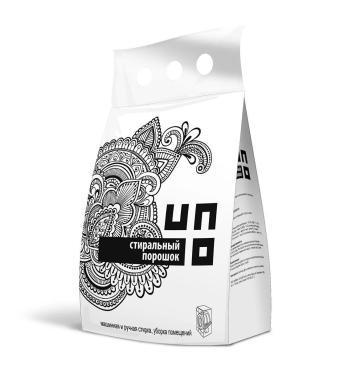 Стиральный порошок Uno универсал, 3 кг., пластиковый пакет