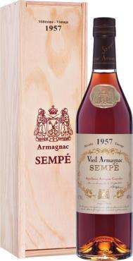 Арманьяк 40% Sempe Vieil Armagnac 1957, 700 мл., подарочная упаковка