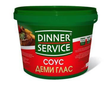 Соус Деми Глас Dinner service1,5кг.