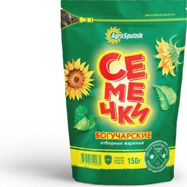 Семечки отборные жареные Богучарские, 150 гр., дой-пак