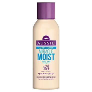 Бальзам-ополаскиватель Aussie Miracle Moist для сухих поврежденных волос