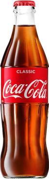 Газированный напиток РФ , Coca-Cola, 330 мл, стекло
