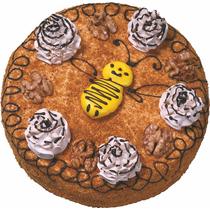 Торт БКК пчелка с вареной сгущенкой  800 гр.