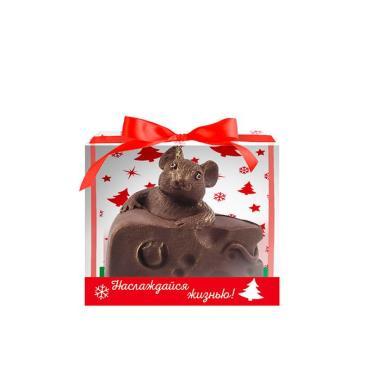 Шоколадное изделие Мышка Ацтек, Сырный магнат, 110 гр., пластиковая упаковка