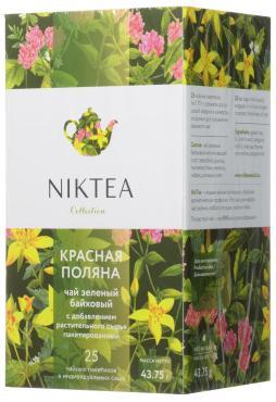 Чай Niktea Красная Поляна травяной, 25 пакетиков