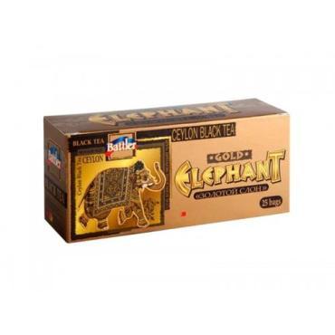 Чай Battler Золотой слон черный цейлон в пакетиках