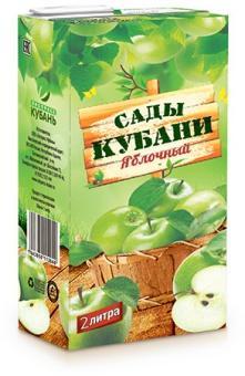 Нектар Сады Кубани яблочный