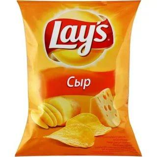 Чипсы Lays Сыр