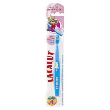 Зубная щетка Lacalut Baby до 4 лет