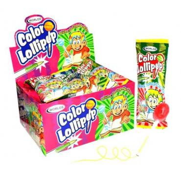 Карамель Color Lollipop леденцовая на палочке
