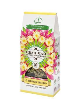 Иван-чай с Липовым Цветом ферментированный