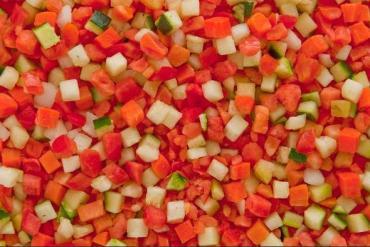 Овощная смесь Кантарелла Лечо замороженная