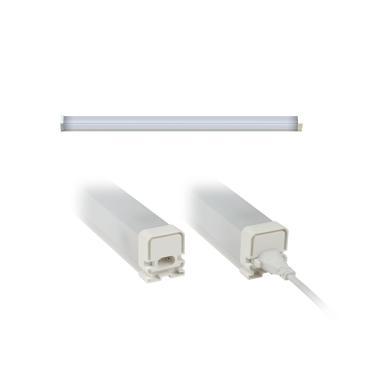 Светильник светодиодный накладной, с коннектором. Белый свет. Корпус белый. ULO-BL60-9W/NW/K IP54 WHITE Uniel, 433,33 гр., картонная коробка