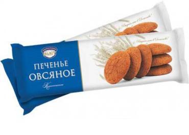 Печенье ПОЛЕТ овсянное классичес 300 гр 1/10
