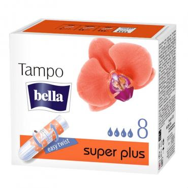 Тампоны 8 шт., Bella Premium Comfort Super Plus, картонная коробка