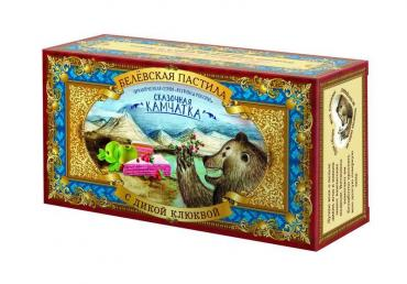 Пастила с дикой клюквой Белёвская, 100 гр., картонная коробка