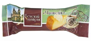 Сырок глазированный 18,0% Венский завтрак, Чизкейк 45 гр., флоу-пак