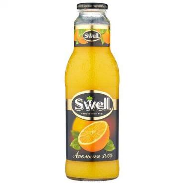 Сок апельсиновый с мякотью Swell, 750 мл., стекло