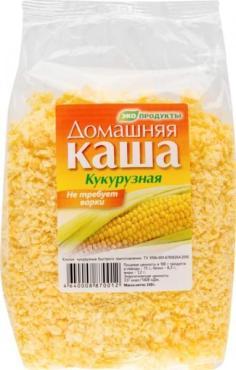 Каша кукурузная, Домашняя, 150 гр., пластиковый пакет