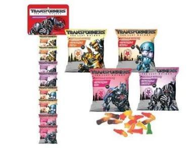 Жевательный мармелад Union group Transformers, 25 гр., сашет