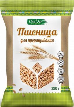 Пшеница для проращивания, DiaDar, 280 гр., флоу-пак