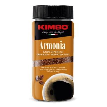 Кофе растворимый с молотым, Kimbo Armonia, 90 гр., стекло