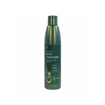 Крем-бальзам для сухих ослабленных и поврежденных волос Estel Curex Therapy, 250 мл., пластиковая бутылка