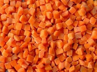 Морковь кубик с/м 10*10мм