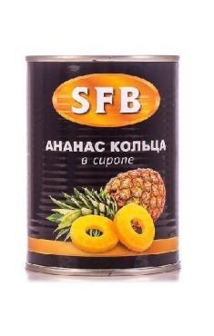 Ананасы SFB кольца в сиропе 580мл