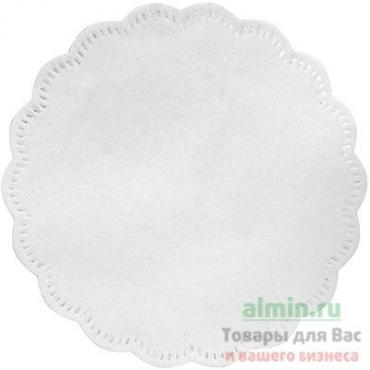 Салфетка сервировочная коастер 90 мм., Белая SCA Tork