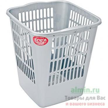 Корзина мусорная Bora 11,5л 265х250х288мм пластиковая
