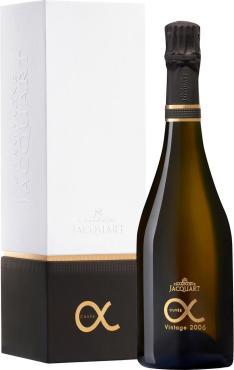 Шампанское Шампань Жакарт Кюве Альфа Винтаж в подарочной упаковке, Франция